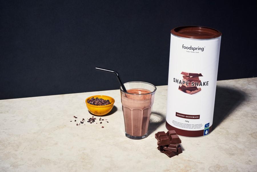 Docti Foodspring shake choco